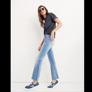 Madewell Jeans - Madewell Cali Denim Boot inset edition